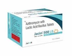 Azithromycin 500mg with Lactic Acid Tab