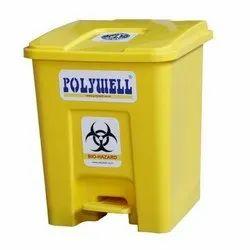 Yellow Bio Medical Garbage Bin