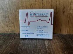 80 Mm Heartbeat ECG Paper