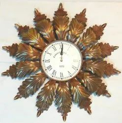 MANUFACTURED COPPER ANTIQUE WALL CLOCK, For EVERYWHERE, Size: 24