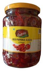 Spicy Entree Red Paprika Slices, Packaging Type: Glass Jar, Packaging Size: 1kg