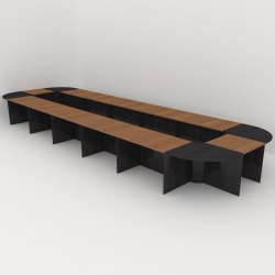 LARGE BOARD ROOM TABLE