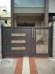 IRON AND ALUMINIUM Polished DECORATIVE GATE