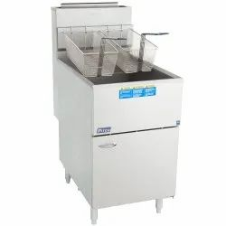 Unifrost Single Tank Gas Manual Fryer  (Brand : Pitco) 65C+SS