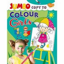 Jumbo Copy To Colour Series 8 Different Books