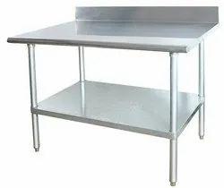 Stainless Steel Wok Table