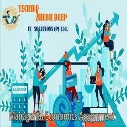 Online Plag Free Managerial Economics Assignment