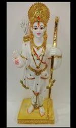 Polyresin Ram Statue