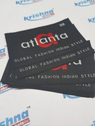 Custom embroidered labels