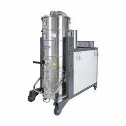 Three Phase Industrial Vacuum Cleaner, 4 HP Multi Stage Turbine Motor