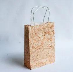 Handmade Paper Carry Bag, Capacity: 5kg