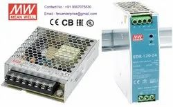 24VDC 5A Meanwell SMPS Power Supply