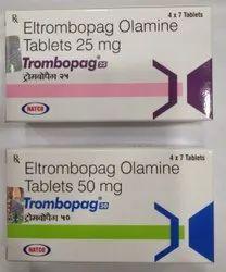 Trombopag 50 mg (Eltrombopag Olamine)