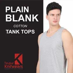 Plain Bank Tank Tops