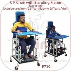 C P Chair With Standing Frame  Two In One