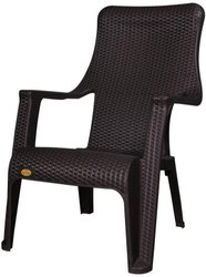 Brown PLASTIC National Relax Chair