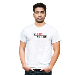 No Pain No Gain T shirt for Men