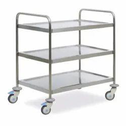 4 Tier Stainless Steel Trolley