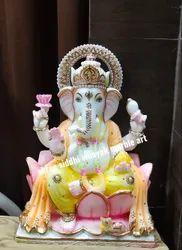 God Marble Ganesh Ji Statue