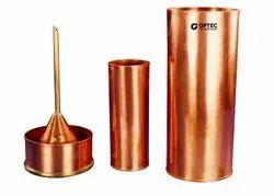 Rain Gauge, British Association Pattern, Copper