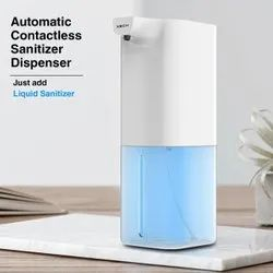Automatic Contactless Foam Dispenser Rechargeable Battery 350 ml Foam Dispenser  (White)