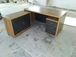 Director Table with Drawers