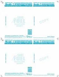 Paper Gas Bills