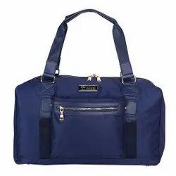 Blue Nylon Herman Hansen Duffle Bag, For Travel