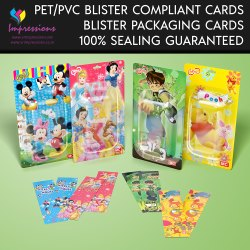 Toys Blister Packaging Cards