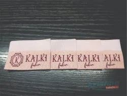 Sew on name labels for clothing