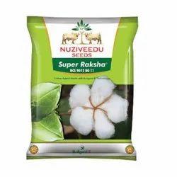 Dried Nuziveedu Super Raksha NCS 9012 BG-II Hybrid Cotton Seeds, For Agriculture, Packaging Size: 475g