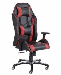 High Back Leatherette Gaming Any Time Chair Black & Red (VJ-2002)