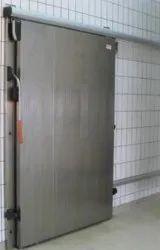 Grey Steel Sliding Doors, For Home, Exterior