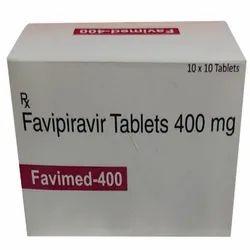 Favimed Favipiravir  400mg Tablets
