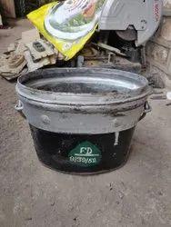 Multicolor Iron Reclaimed Metal Bucket, For Industrial