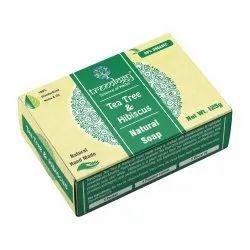 Tea Tree & Hibiscus Natural  Hand Made Soap