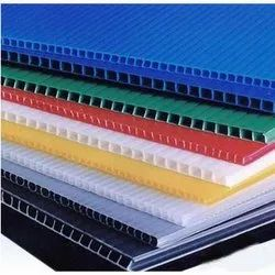 POLYPROPLENE PLASTIC HOLLOW SHEETS