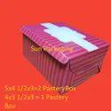 Duplex Pastry Box Pink