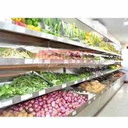 Wall Mounted Fruit And Vegetable Rack