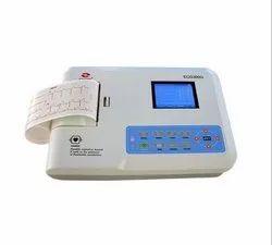 Digital 3 Channel ECG Machine