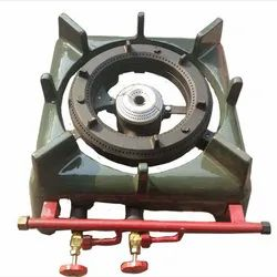 Double High Pressure Canteen Gas Burner Casted