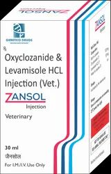 Oxyclozanide and Levamisole HCL,  Packaging Size: 30,100 Ml
