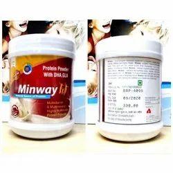 Minway Whey Protein Powder, 200 Gram, Prescription