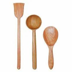 Neem Wood Serving Spoon