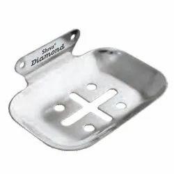 Shiva Diamond CP Soap Dish