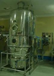 Pharmaceutical Fluid Bed Dryer Fluidized Bed Granulator Machine