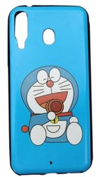 Plastic Printed Samsung M20 Mobile Back Cover