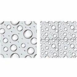 Vitrified Polished Bubble Design Verified Tiles, 3D, Size: 600 x 600 mm