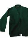 Winter Girls Vp Oswal Green Uniform Woolen Sweater, For School, Size: Large