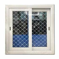 Polished Aluminium Window Grill, Size: 3x1.5feet